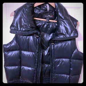 Ralph Lauren RLX 100% down vest. Black. Size L.